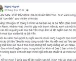 Một cô gái tố bị quấy rối tình dục khi lặn ngắm san hô ở đảo Bình Ba