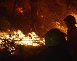 Video: 5 giờ quân dân vật lộn xuyên đêm với biển lửa dập tắt cháy rừng