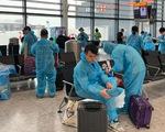 Hai ngày đưa 340 công dân Việt Nam từ Anh về nước