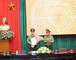 Thăng hàm đại tá cho giám đốc Công an tỉnh Thái Bình