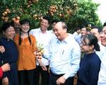 Thủ tướng động viên đoàn xe xuất hành tiêu thụ vải thiều Bắc Giang