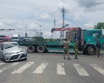 Tai nạn liên hoàn 7 xe ở quận Bình Tân, nhiều người bị thương