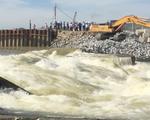 Vỡ đập tràn ở Nghệ An, hơn 7.800 hộ dân bị cúp nước