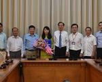 Trưởng Ban tuyên giáo Quận ủy quận 8 làm phó chánh Văn phòng UBND TP.HCM