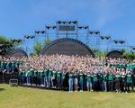 Hơn 700 thanh niên dự hội trại