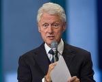 Cựu tổng thống Bill Clinton: