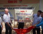 Khánh thành công trình nước sạch cho vùng hạn mặn Kiên Giang