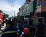 Cứu kịp thời nhiều người mắc kẹt trong dãy nhà trọ sinh viên bị cháy