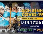 COVID-19 ngày 18-7: Thế giới thêm 1 triệu ca COVID-19 chỉ trong 100 giờ
