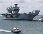 Trung Quốc cảnh báo Anh không điều tàu sân bay,