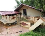 Nhà cửa đổ sập, người dân trắng tay sau mưa lũ ở Hà Giang