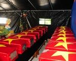19 bộ hài cốt liệt sĩ nằm sâu dưới vườn rẫy của người dân