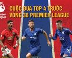 Khả năng nào để Man Utd, Chelsea hay Leicester City lọt vào top 4?