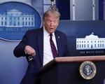 """Tổng thống Donald Trump: """"Hãy đeo khẩu trang"""""""