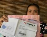 Mắc nợ hàng chục triệu dù chưa dùng thẻ tín dụng