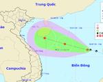Áp thấp ở biển Đông có khả năng mạnh lên thành áp thấp nhiệt đới, thành bão