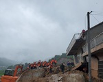 Sạt lở đất chôn vùi 9 người ở Trung Quốc