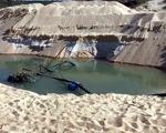 Khó xử vụ trộm cát rành rành vì tỉnh
