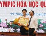 Hải Phòng thưởng 500 triệu cho học sinh giành huy chương vàng Olympic