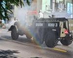 Hải Phòng tiếp tục khử khuẩn các tuyến phố chính để ngừa COVID-19