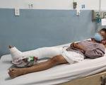 Vụ ôtô húc loạt xe máy: nạn nhân bị giập phổi, chấn thương thận, ngực