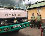 Xe tải chở nồi cơm điện, màn hình máy tính lậu từ Tây Ninh về Sài Gòn