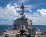 Trung Quốc chỉ trích tàu Mỹ đi qua eo biển Đài Loan là