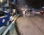 Tài xế Lexus phóng như bay gây tai nạn liên tiếp tông chết một phụ nữ