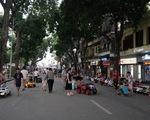 Từ tối nay 21-8, Hà Nội tạm dừng phố đi bộ quanh hồ Hoàn Kiếm
