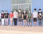 Trốn truy nã, 11 người Trung Quốc sang Móng Cái thuê nhà, tổ chức đánh bạc trên mạng