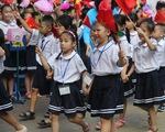 Hà Nội: Học sinh không diễu hành từ cổng vào trường trong khai giảng