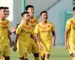 U22 Việt Nam chơi sảng khoái trước ngày đấu CLB Viettel