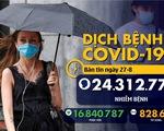 Dịch COVID-19 ngày 27-8: Mỹ thay đổi khuyến nghị xét nghiệm, toàn cầu có hơn 24,3 triệu ca