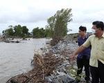 Cà Mau ban hành tình huống khẩn cấp sạt lở 4 đoạn đê biển Tây