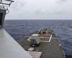 Mỹ lên án Trung Quốc bắn tên lửa ra Biển Đông, điều tàu áp sát Hoàng Sa