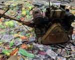 Tiêu hủy hàng ngàn đồ chơi nguy hiểm, hàng trăm vũ khí thô sơ