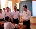 Học sinh, phụ huynh chủ động khai báo y tế trước khi đến điểm thi tốt nghiệp THPT