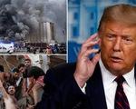 Tổng thống Trump nói nổ lớn ở Lebanon giống một