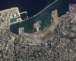 Khó ai nhận ra cảng Beirut trước và sau vụ nổ thảm khốc qua ảnh vệ tinh