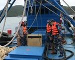 Cảnh sát biển bắt tàu chở 100.000 lít dầu DO không nguồn gốc