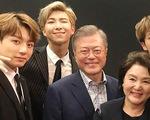 Tổng thống Hàn Quốc ca ngợi BTS