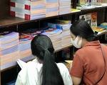 TP.HCM: Nhiều nhà sách hết sách giáo khoa, NXB