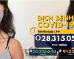 Dịch COVID-19 ngày 11-9: hơn 28,3 triệu ca mắc COVID-19 trên toàn cầu