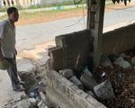 Tường đổ đè chết học sinh: 'Trường biết tường hư hỏng nhưng chưa có tiền sửa'