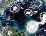 5 cơn bão và áp thấp nhiệt đới cùng lúc trên Đại Tây Dương