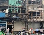 Tạm giữ nghi phạm gây ra vụ cháy chi nhánh Ngân hàng Eximbank