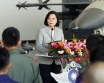 Bà Thái Anh Văn ca ngợi phi công Đài Loan