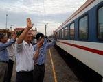 Đường sắt bán vé tàu Tết Tân Sửu từ 1-10