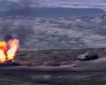 Chiến sự giữa hai nước thuộc Liên Xô cũ, nhiều máy bay và xe tăng bị hạ