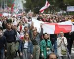 Cảnh sát bắt hàng chục người trong biểu tình lớn ở Belarus